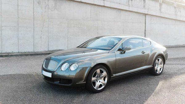 Bentley Continental GT vezetés