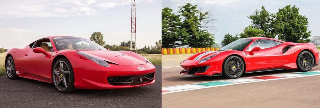 Ferrari vezetése