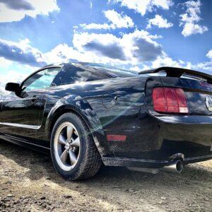 Ford Mustang ROUSH vezetés